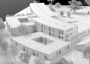 Maquettes d 39 architecture 6 for Maquette d architecture
